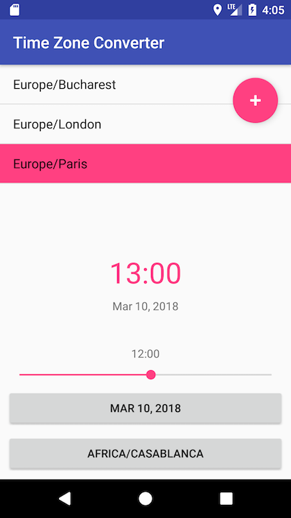 Build Your First Android App: A Time Zone Converter - Dragos