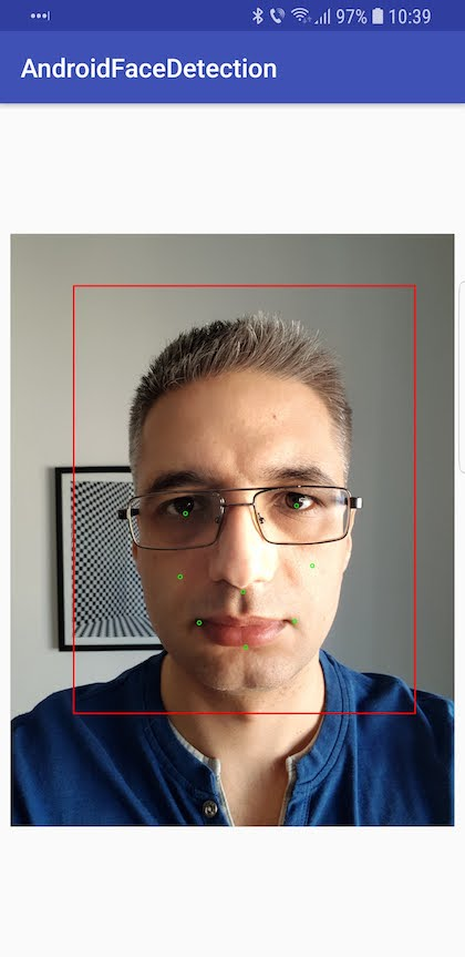 Android Face Detection Tutorial - Dragos Holban