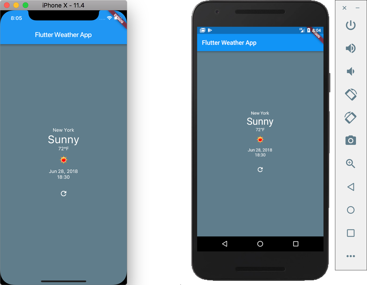 How to Build a Simple Weather App in Flutter - Dragos Holban